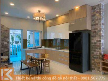 Nhận đóng tủ bếp ở Quận Bình Thạnh chuyên nghiệp MS0048