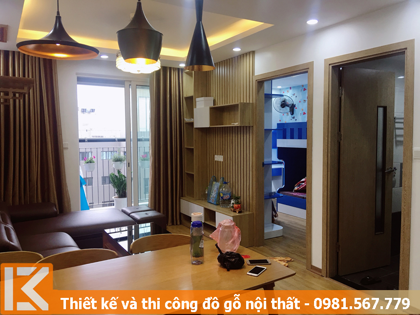 thi công đồ gỗ nội thất chung cư uy tín