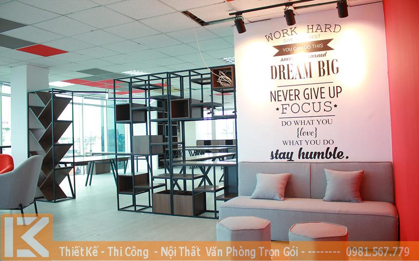 Thiết kế nội thất văn phòng công ty thương mại