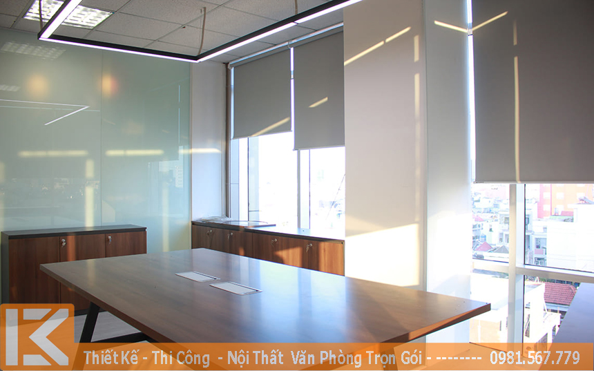 tư vấn và thiết kế nội thất văn phòng