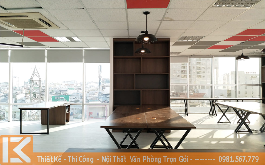 Thiết kế nội thất văn phòng làm việc lãnh đạo, ceo
