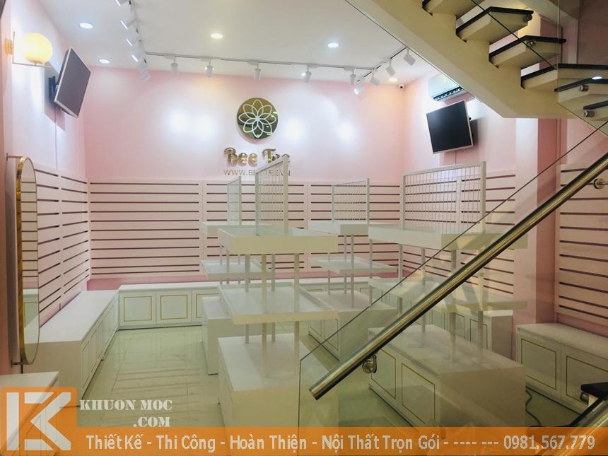 Công ty thiết kế và trang trí nội thất shop, cửa hàng uy tín, chuyên nghiệp