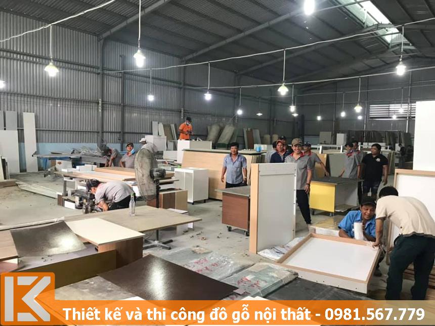 Chuyên đóng đồ gỗ nội thất bằng gỗ công nghiệp theo yêu cầu