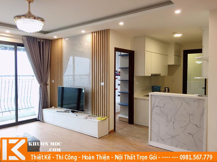Chuyên thi công hoàn thiện nội thất căn hộ chung cư