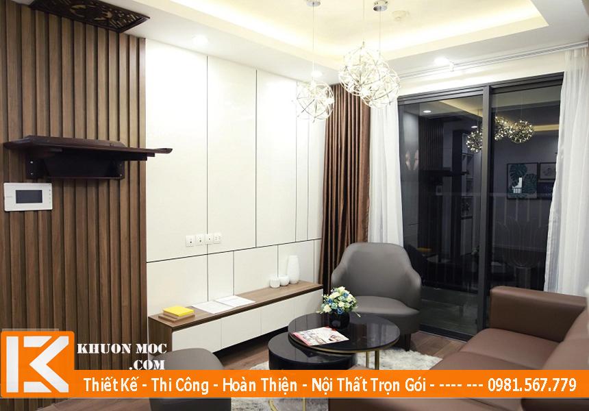 Thi công nội thất chung cư nguyên căn, trọn gói tại TPHCM