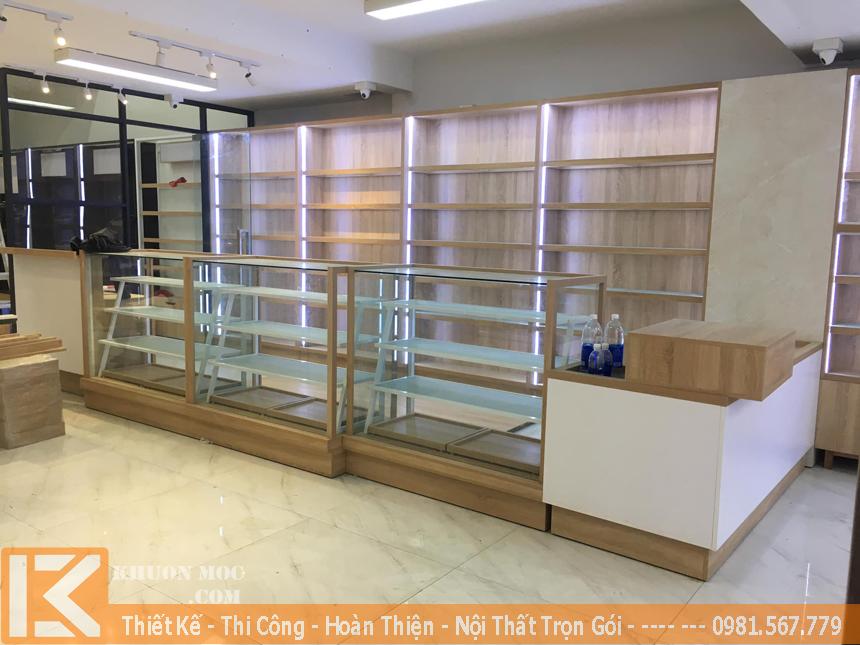 Thi công nội thất shop, cửa hàng trọn gói ở TP.HCM
