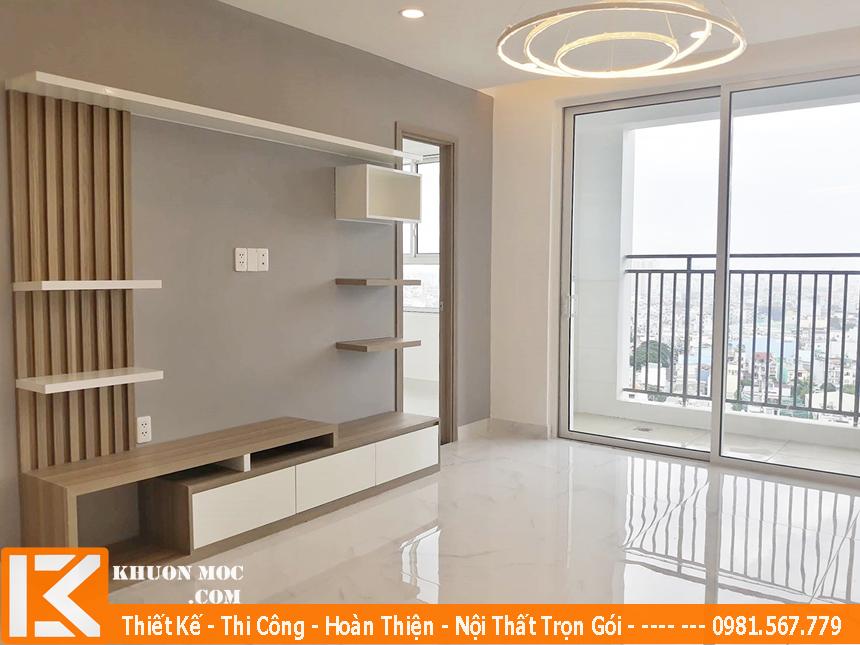 Thiết kế, thi công nội thất chung cư cao cấp trọn gói, chuyên nghiệp.