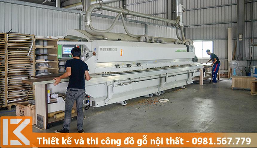 Tiêu chuẩn để chọn xưởng làm đồ gỗ công nghiệp phù hợp ở TPHCM.