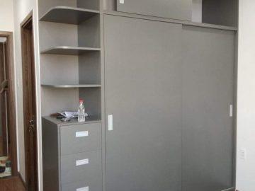 Thiết kế mẫu tủ quần áo gỗ công nghiệp KM004