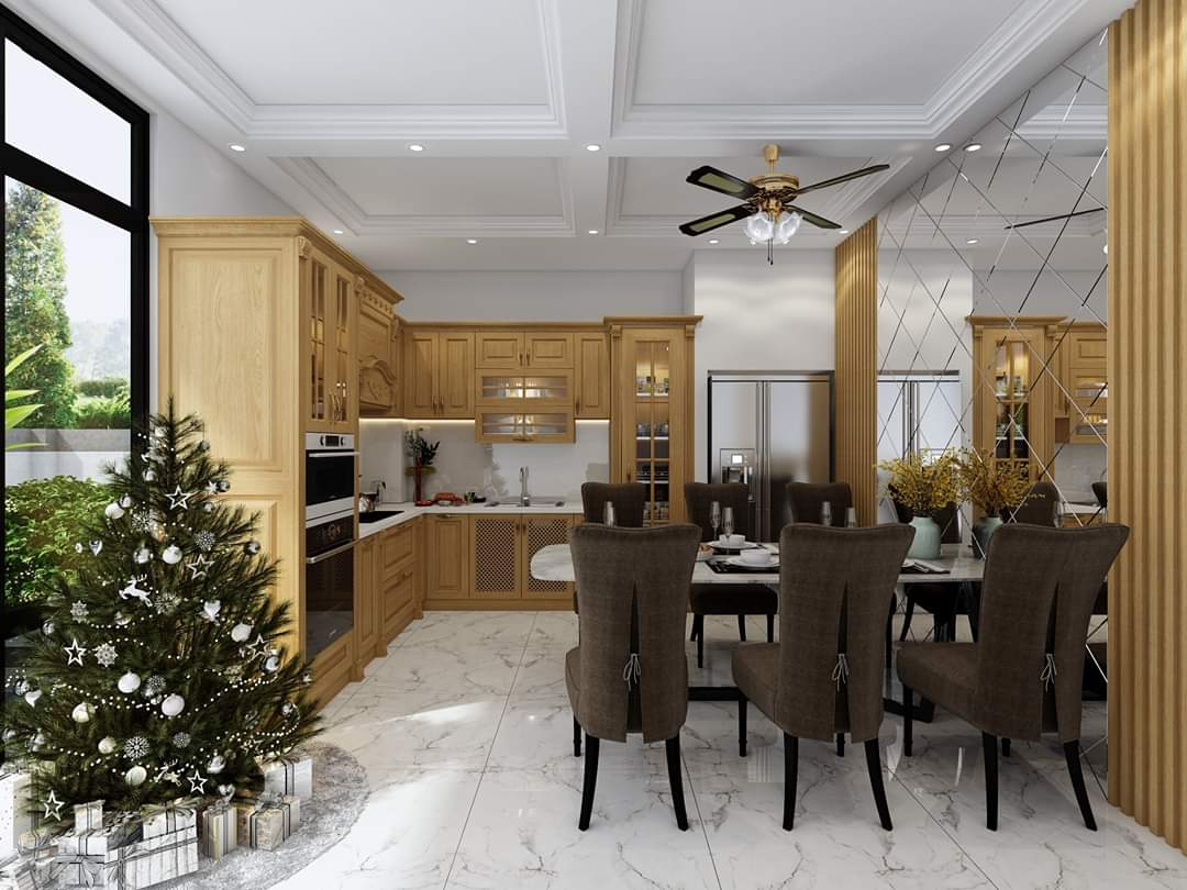 Đóng nội thất gỗ tự nhiên