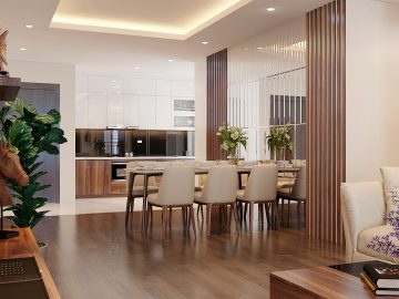 Thiết kế và hoàn thiện nội thất chung cư SaiGon Royal Quận 4