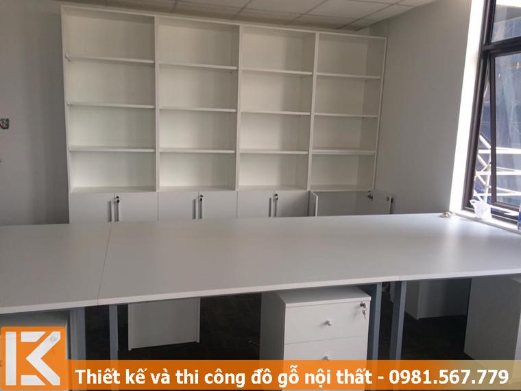 Đóng bàn tủ làm việc và kệ tủ hồ sơ ở Thủ Đức KM245454