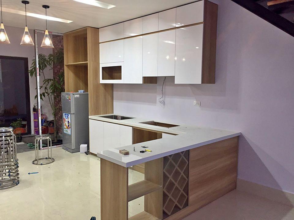 Công trình tủ bếp chúng tôi đã hoàn thiện và lắp đặt