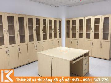 Đóng tủ, kệ đựng tài liệu công ty ở Quận 5 #KM24544