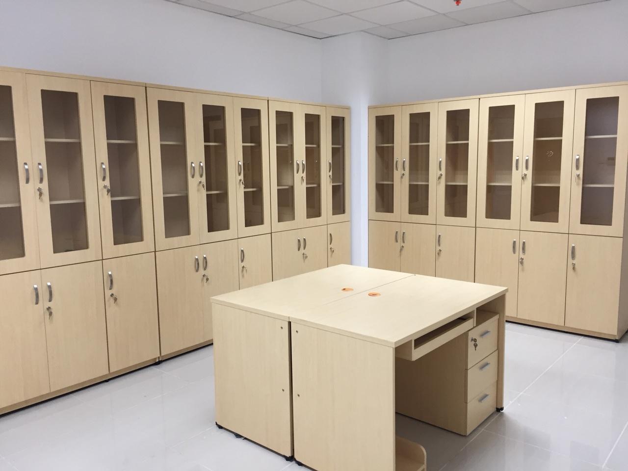 tủ, kệ hồ sơ gỗ công nghiệp bán sẵn