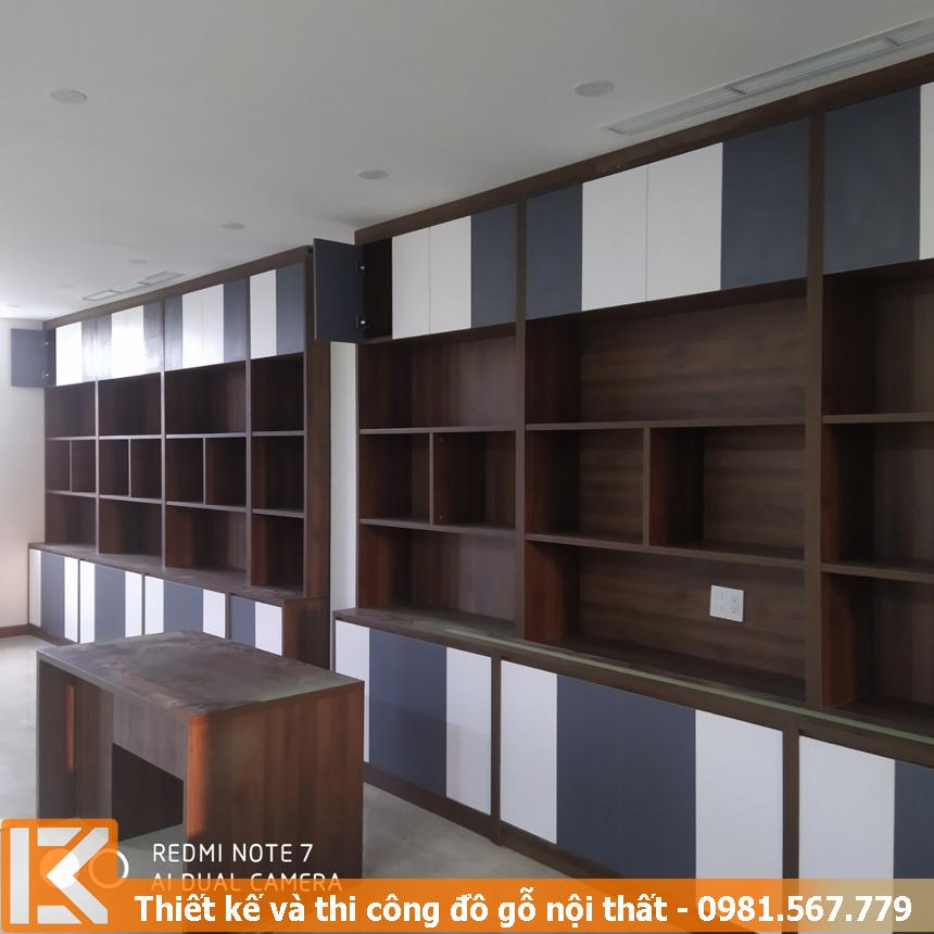 Thiết kế tủ đựng hồ sơ đẹp, giá rẻ ở Quận 4 #KM24332