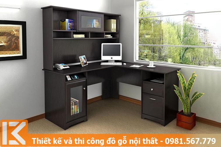 Xưởng đóng tủ kệ bàn làm việc hiện đại Gò Vấp KM245456